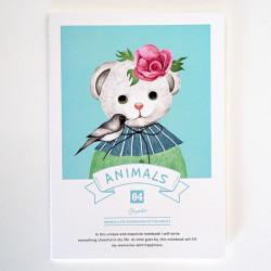 - Animals Defter Mavi