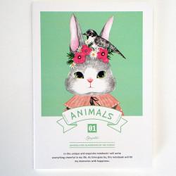 - Animals Defter Yeşil
