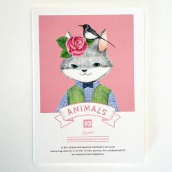 - Animals Defter Pembe