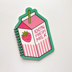 - Fresh Milk mini defter