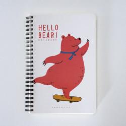 - Hello Bear Defter Turuncu