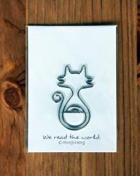 - Metal Ayraç Kedi