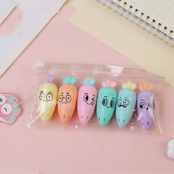- Mini Havuçlar İşaretleme Kalemi
