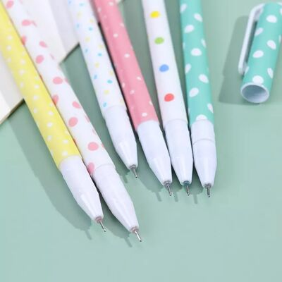 Puantiyeler 6'lı renkli kalem