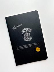 Siyah kapaklı defter - Thumbnail