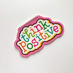 - Think positive mini defter