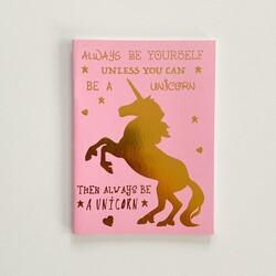 - Unicorn Yaldızlı Defter