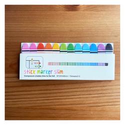 - Yapışkanlı Marker Crayon