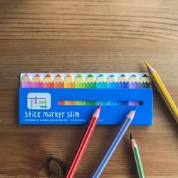 - Yapışkanlı Marker Boya Kalemi