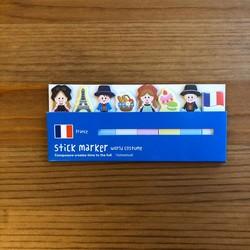 - Yapışkanlı Marker Fransa