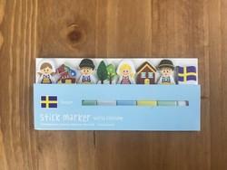 - Yapışkanlı Marker İsveç