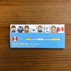 - Yapışkanlı Marker Kanada